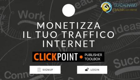 ClickPoint – piattaforma di affiliazione sicura