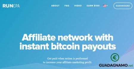 Piattaforma di Affiliazione in Bitcoin – Banner e ADV per il tuo sito