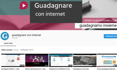 10 video-tutorial su come guadagnare con internet