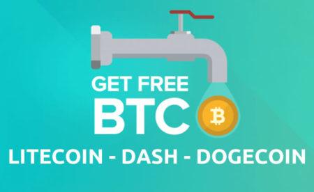 6 Faucet per guadagnare rapidamente Bitcoin, Litecoin, Dash e Dogecoin
