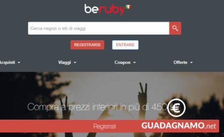 Novità da BeRuby – guadagnare provando servizi e navigando