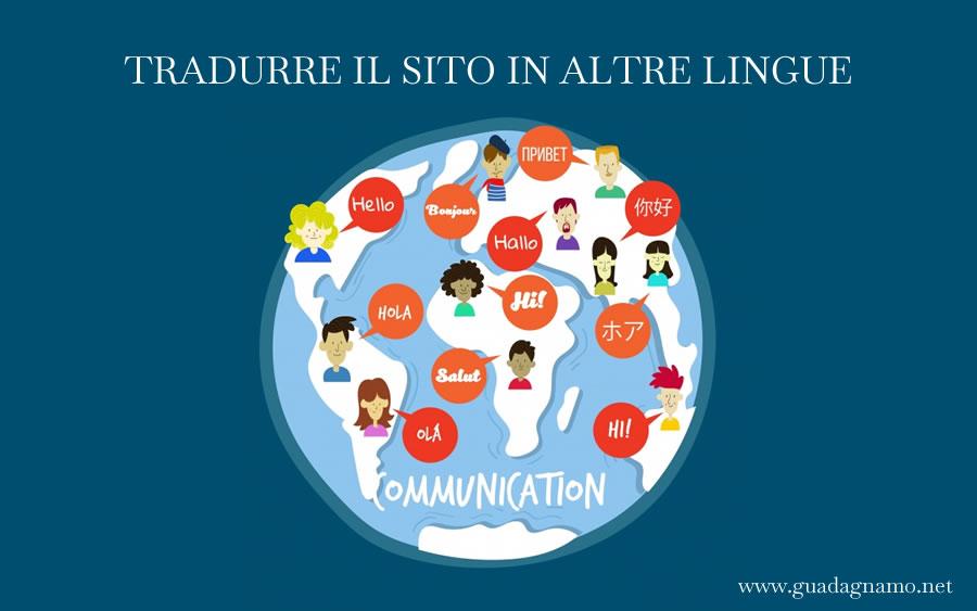 Raggiungere nuovi clienti con un sito multilingue